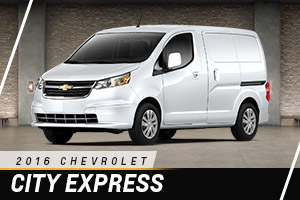 Chevrolet City Express at Carter Chevrolet in Okarche OK Serving Oklahoma City