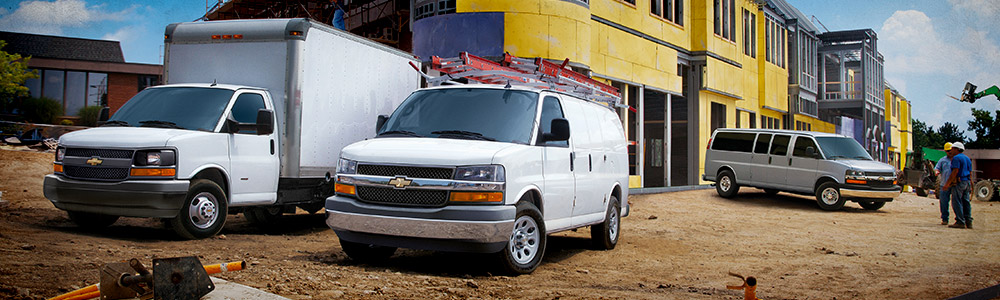 Chevrolet Commercial Vans at Carter Chevrolet in Okarche OK