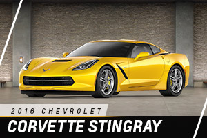 Chevrolet Corvette Stingray at Carter Chevrolet in Okarche OK Serving Oklahoma City