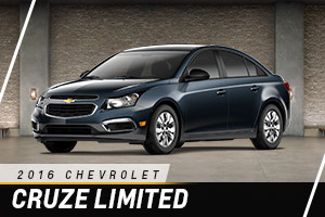 Chevrolet Cruze Limited at Carter Chevrolet in Okarche OK Serving Oklahoma City