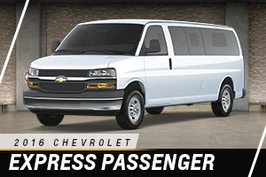 Chevrolet Express Passenger Van at Carter Chevrolet in Okarche OK Serving Oklahoma City