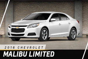 Chevrolet Malibu Limited at Carter Chevrolet in Okarche OK Serving Oklahoma City