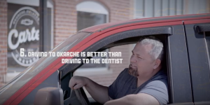 10 Reasons to Buy Carter Chevrolet - Driving to Okarche is Better Than Driving to the Dentist