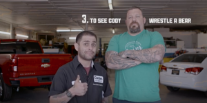 10 Reasons to Buy Carter Chevrolet - To See Cody Wrestle a Bear