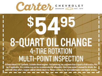 8-quart Oil Change Special