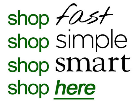 shop fast simple smart