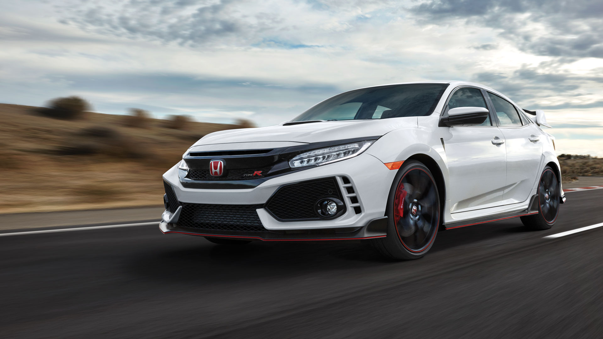 For This Saturday Only You Can Test Drive The All New 2018 Civic Type R Right Here At Checkered Flag Honda 306 Horsepower Is As Rare They