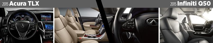 2015-acura-tlx-vs-2015-infiniti-q50-interior