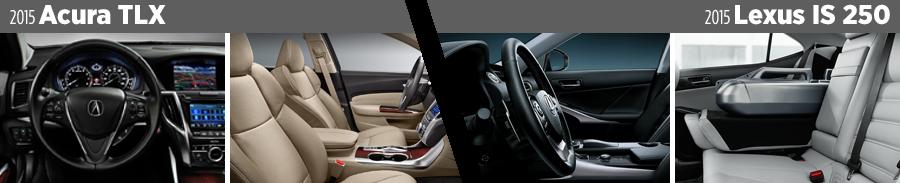 2015-acura-tlx-vs-2015-lexus-is250-interior