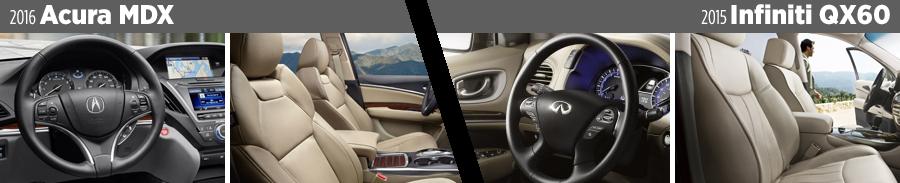 2016-acura-mdx-vs-2015-infiniti-qx60-interior