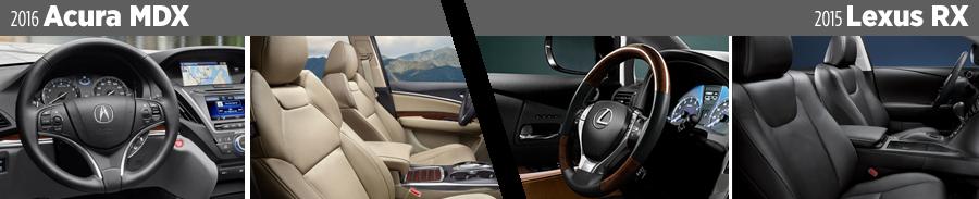 2016-acura-mdx-vs-2015-lexus-rx-interior