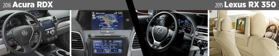 2016-acura-rdx-vs-2015-lexus-rx-350-interior