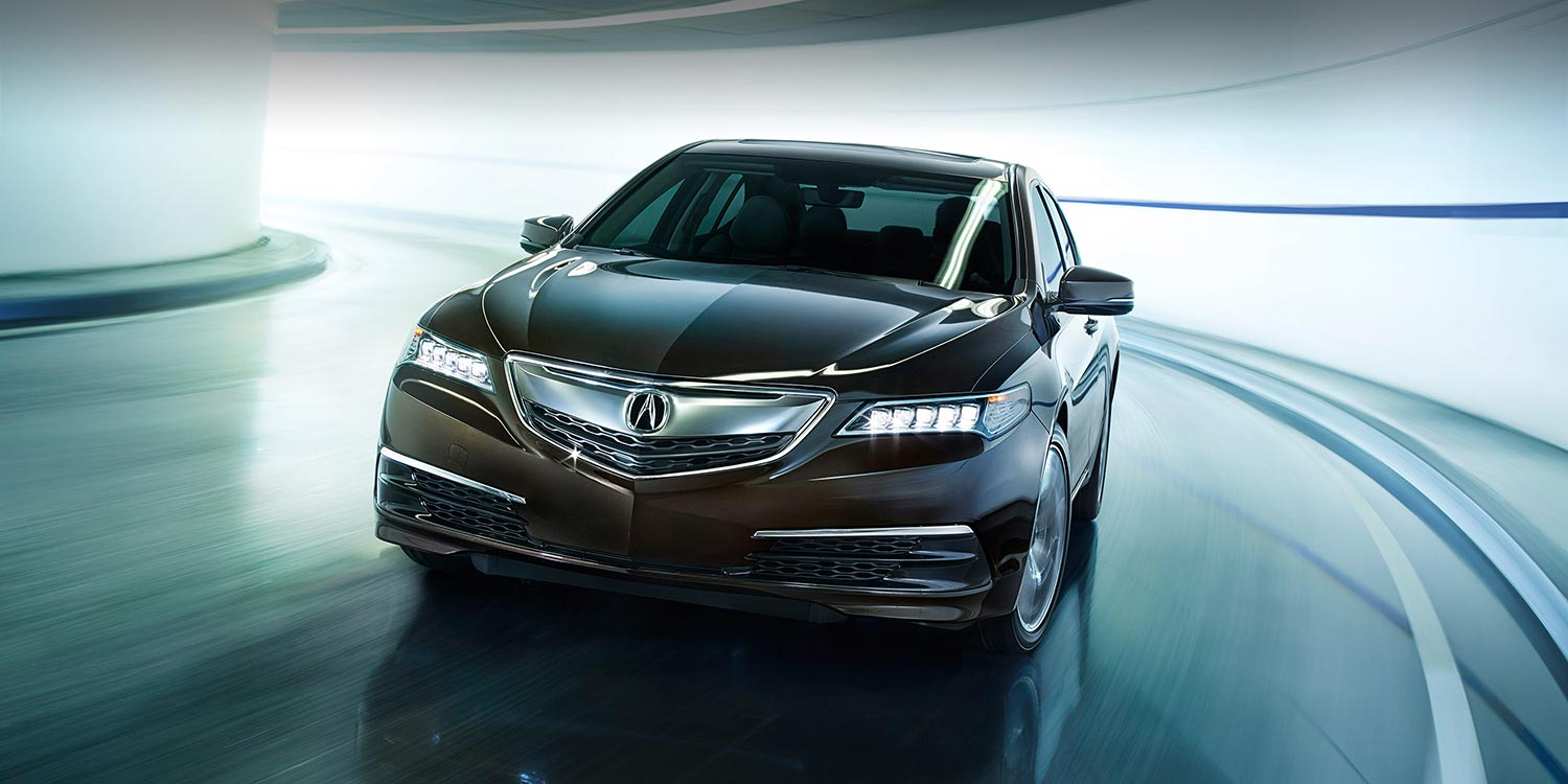 2016 Acura TLX front exterior up close