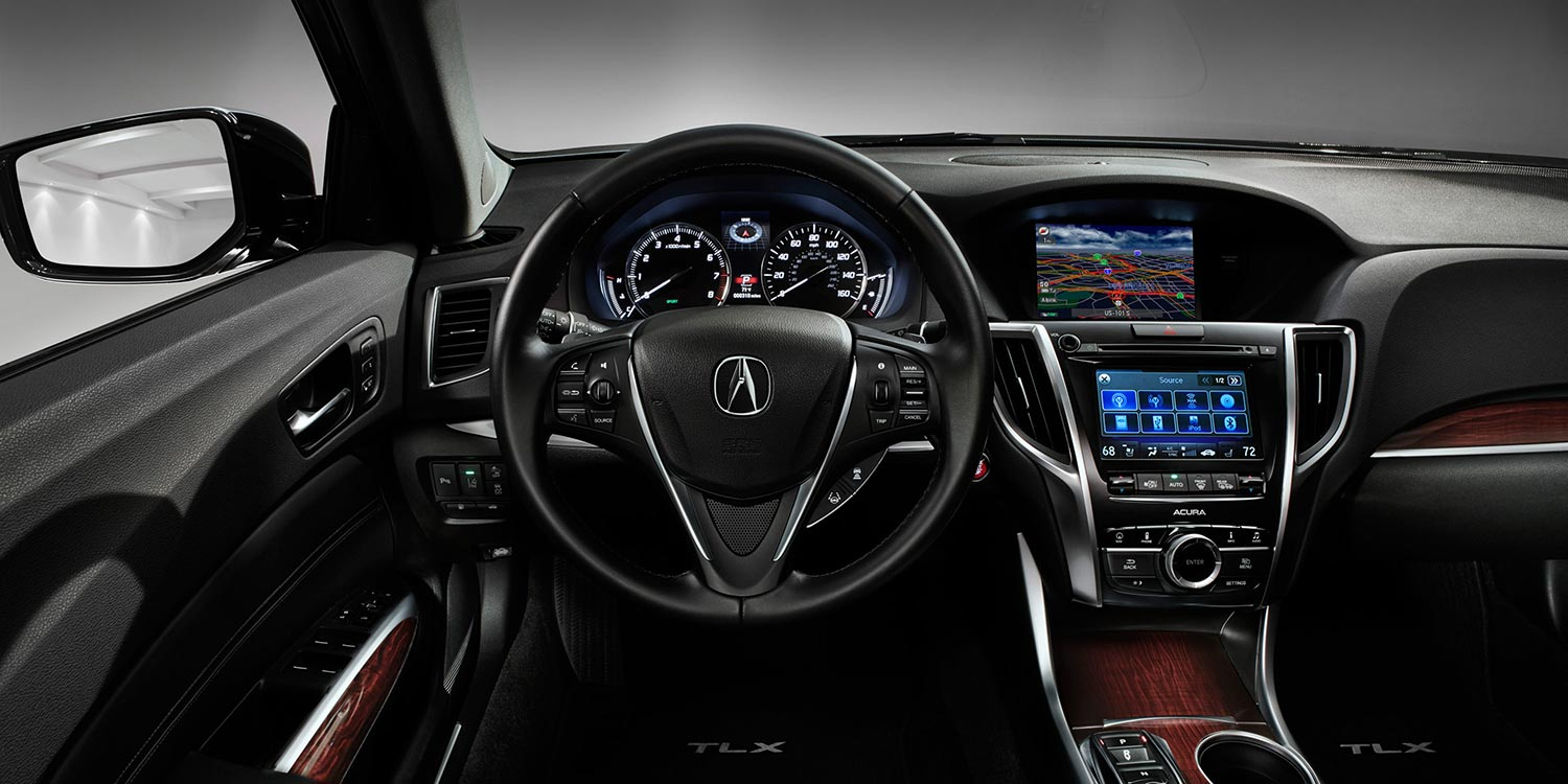 2016 Acura TLX interior technology