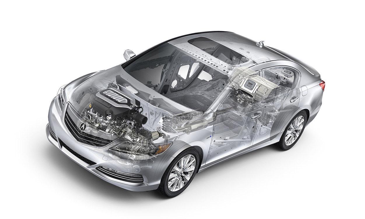 2016 Acura RLX drivetrain