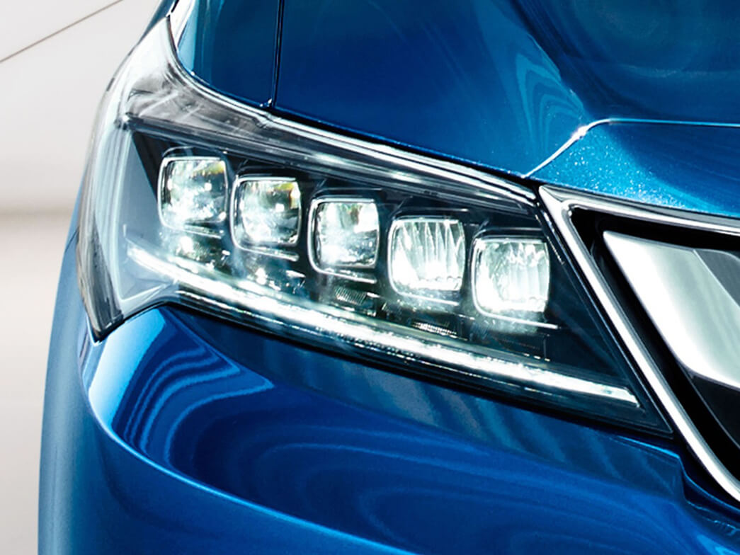 2017 Acura ILX Jewel LED headlights