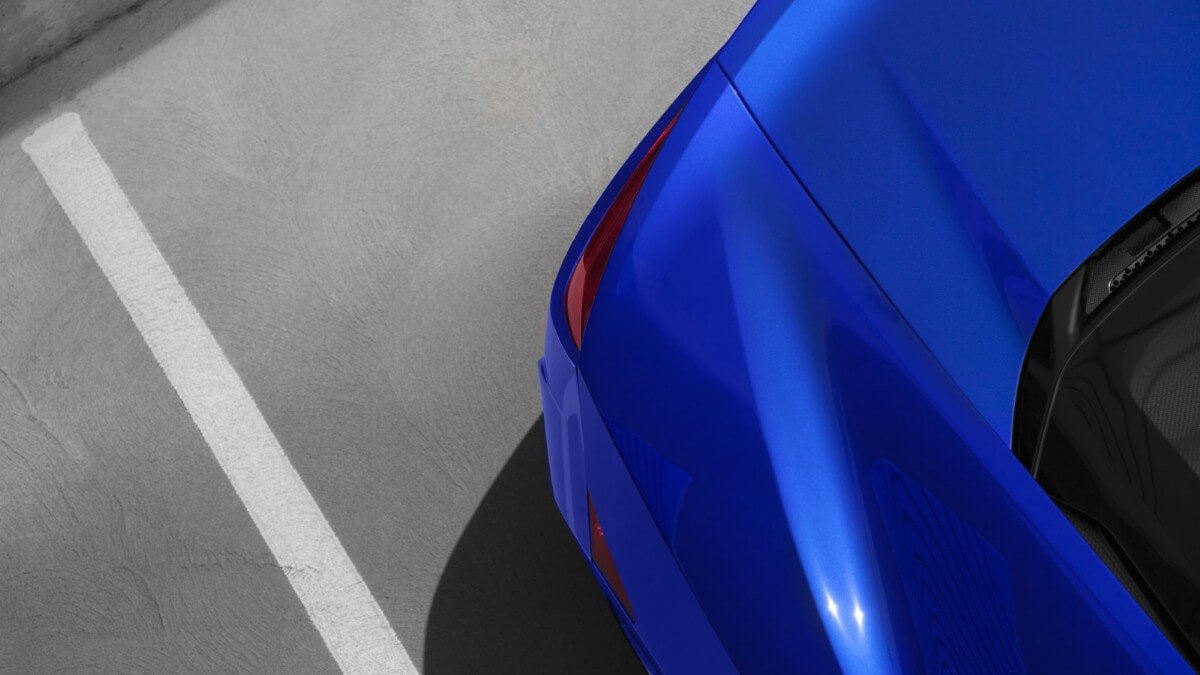 2017 Acura NSX rear parking sensors