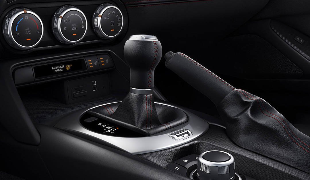 2016 Mazda MX-5 Miata gear stick