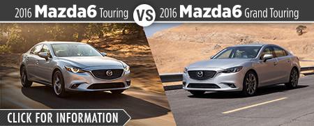 2016 Mazda6 Touring VS 2016 Mazda6 Grand Touring