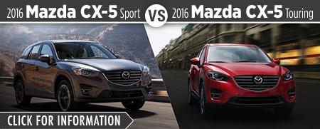 2016 Mazda CX5 Sport VS 2016 Mazda CX5 Touring