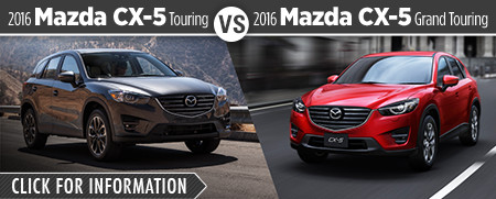 2016 Mazda CX5 Touring VS 2016 Mazda CX5 Grand Touring