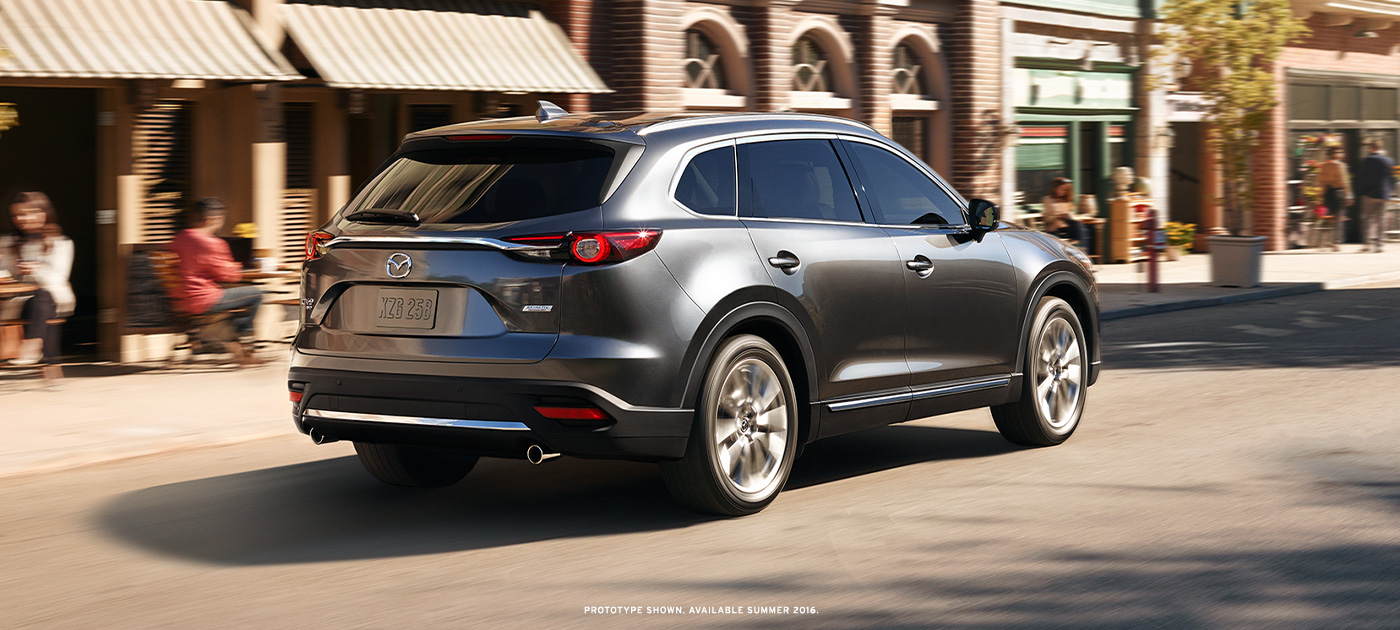 Exterior the mazda cx 9 coming to naperville, north aurora, and wheaton