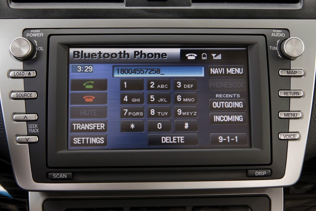 Mazda6 infotainment screen