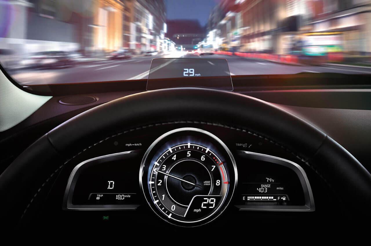 2017 Mazda CX-3 Active Drive Display