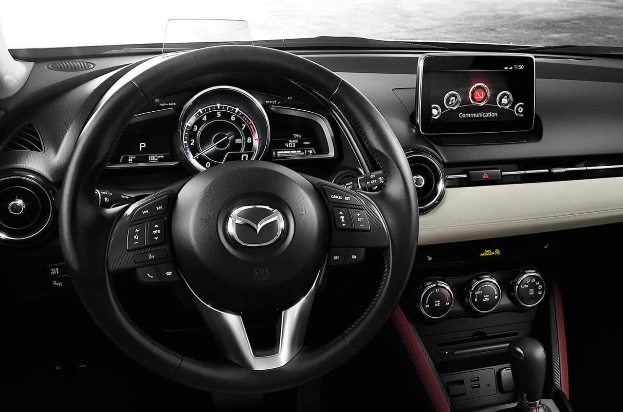 2017 Mazda CX-3 dashboard