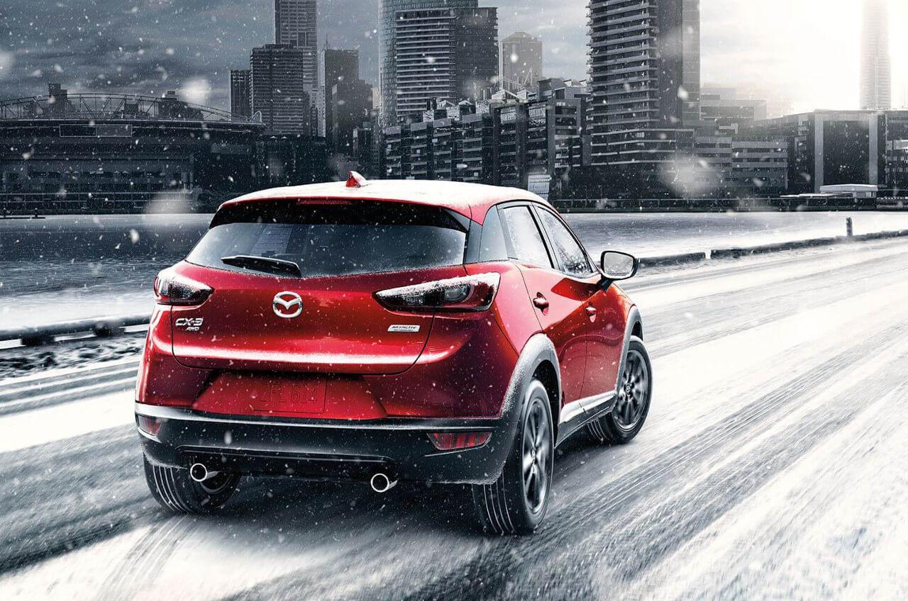 2017 Mazda CX-3 performance in snow
