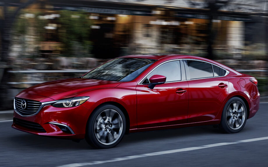 2017 Mazda6 on road