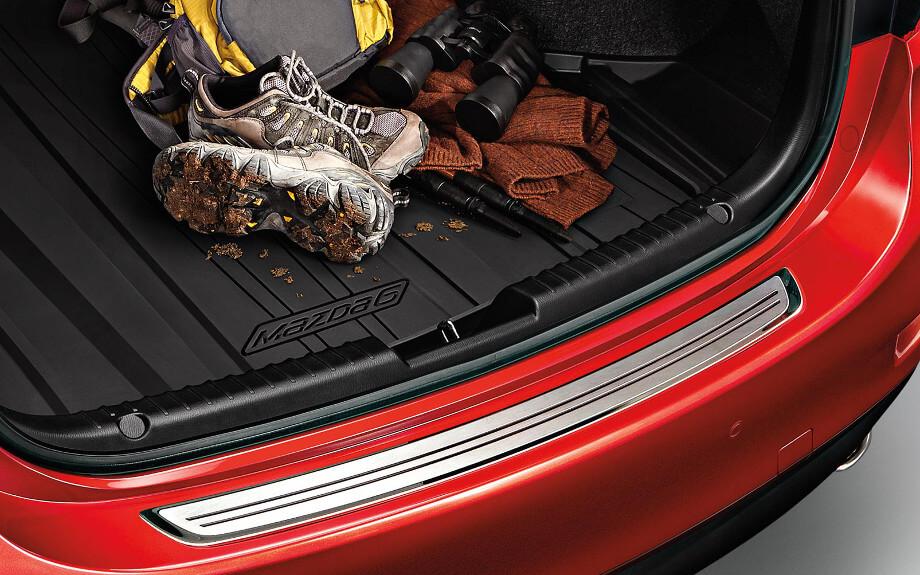 2017 Mazda6 trunk
