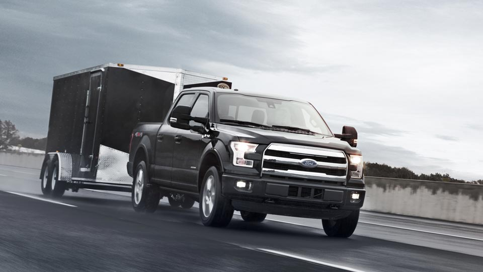 2015 Ford F-150 Towing