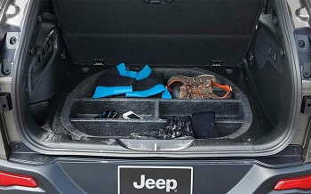 2015 Jeep Cherokee Rear Cargo Floor