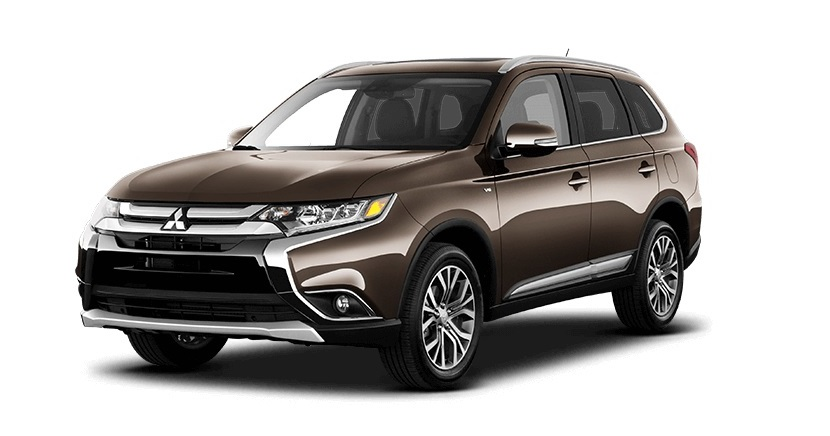 2016 Mitsubishi Outlander Brown