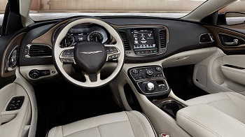 2016 Chrysler 200 Front Interior