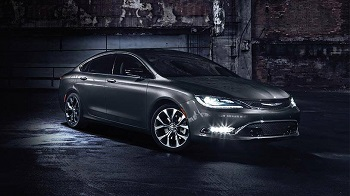 2016 Chrysler 200 Gray
