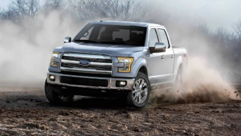 2016 Ford F-150 Front Silver