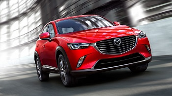 2016 Mazda CX-3 Front Soul Red
