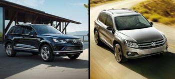VW Tiguan & 2016 VW Touareg