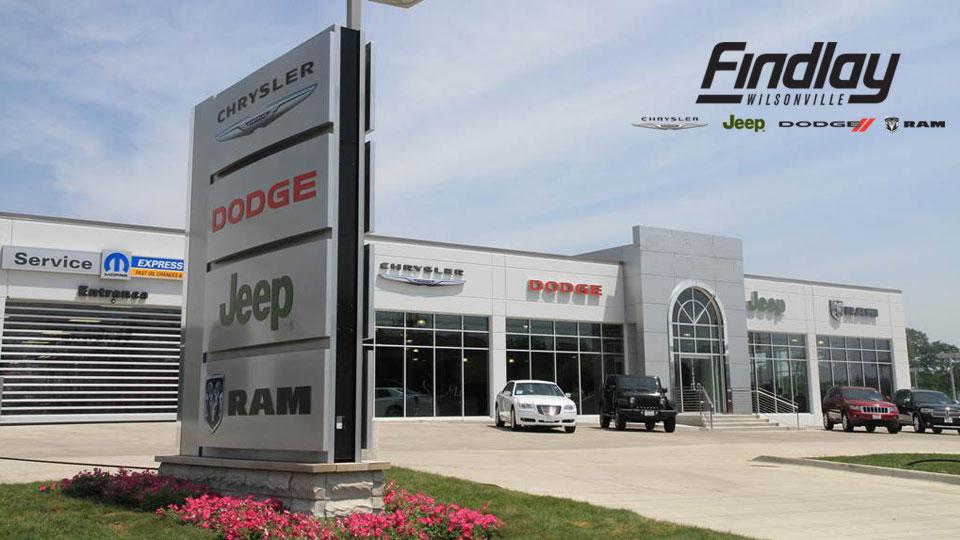 Service Department Wilsonville OR Findlay Chrysler Jeep Dodge Ram - Chrysler dealership phone number
