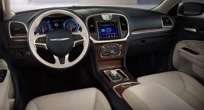 2016 Chrysler 300 Front Interior (Custom)
