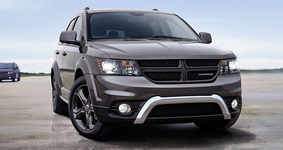2016 Dodge Journey grill