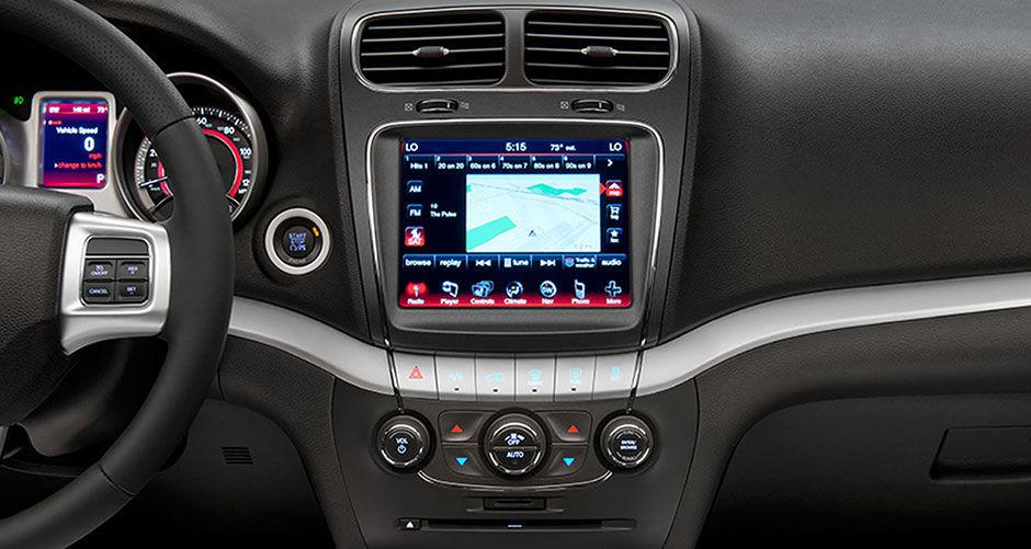 2016 Dodge Journey navigation