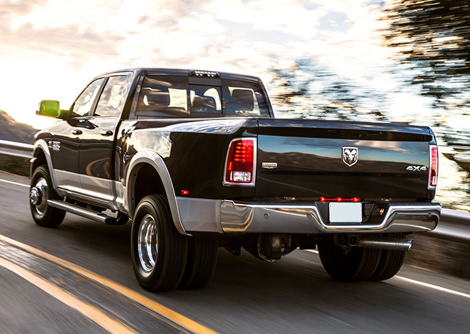 2016 Ram 3500 rear