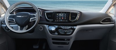 2017 Chrysler Pacifica Front Interior (Custom)