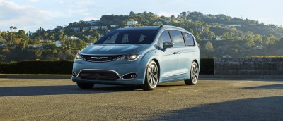 2017 Chrysler Pacifica Trims (Custom)