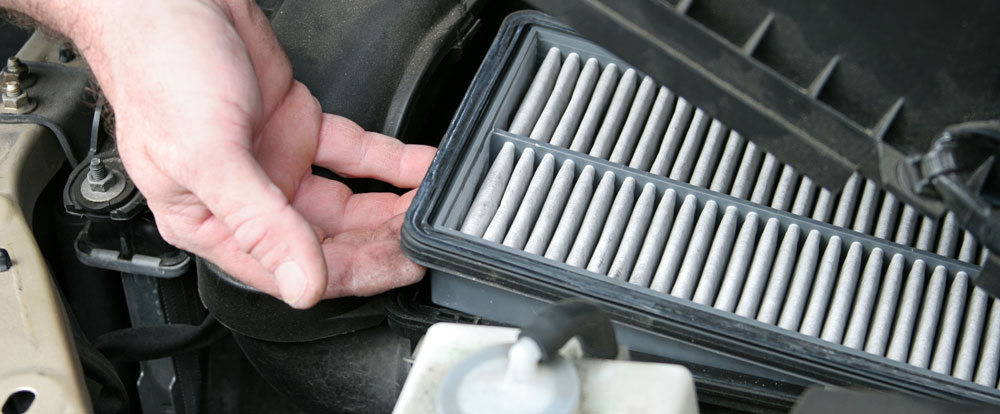 Dirty Air Filter Replacement