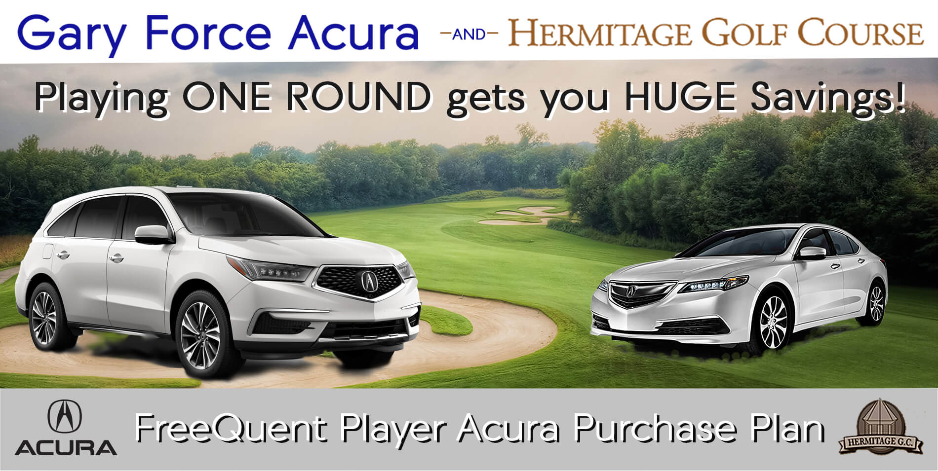 FreeQuent Player Acura Purchase Plan | Gary Force Acura
