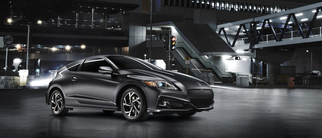2016 Honda CR-Z in the city